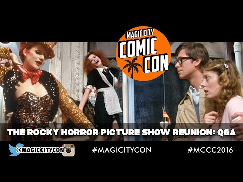 The Rocky Horror Picture Show Reunion Q&A at Magic City Comic Con Jan 2016