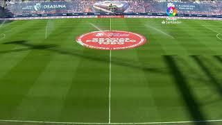 Calentamiento C.A. Osasuna vs Getafe CF