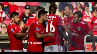 Benfica 2-1 Rio Ave - Relato dos Golos - Antena 1