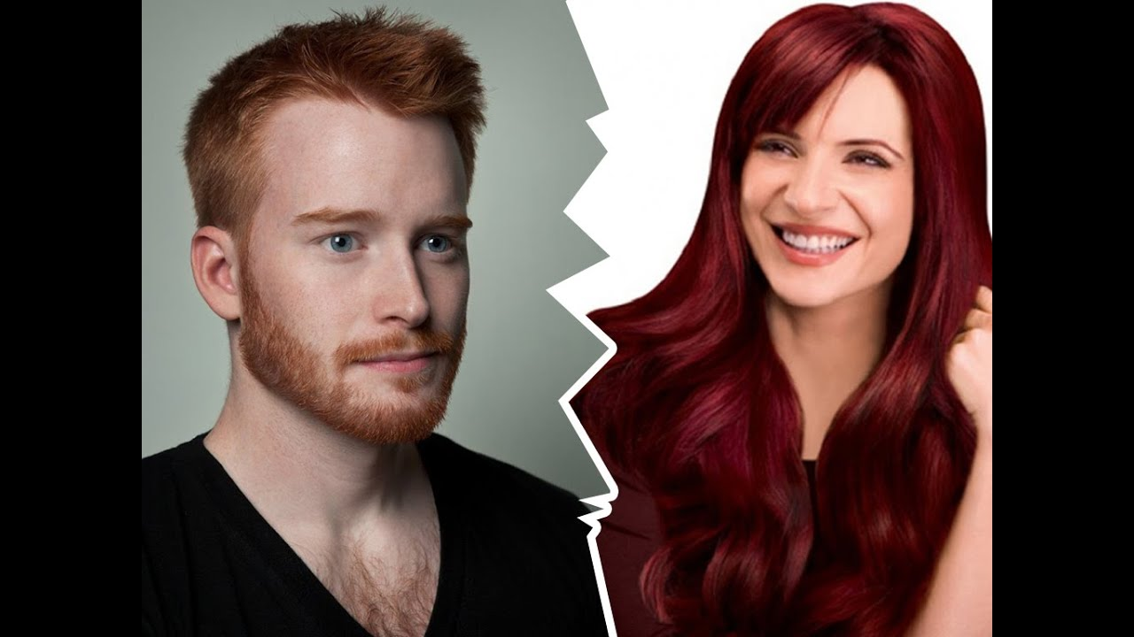 Red Hair Color Chart Hair Style Youtube