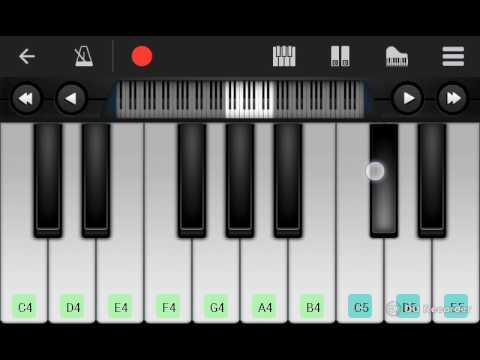prem ratan dhan payo......piano version