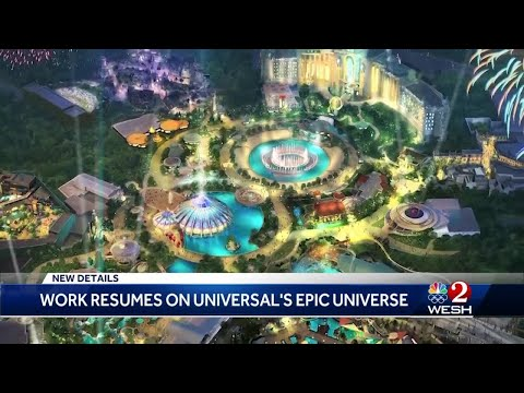 Construction on Universal's Epic Universe resumes