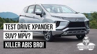 [Test Drive] Mitsubishi Xpander - Test drive singkat GIIAS 2017 - INDONESIA [Nongkrong Bro]