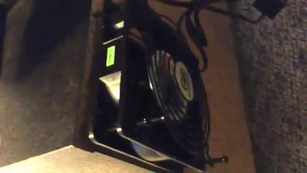IKEA media center cooling fan project. Xbox and Playstation ...