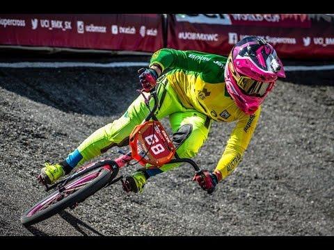 2016 UCI BMX Supercross / Papendal (NED) - Women's Time Trial - Caroline Buchanan