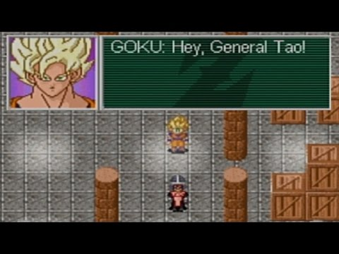 Dragonball Z Legacy of Goku 2 Playthrough - Part 8: General Tao & the Dragonballs
