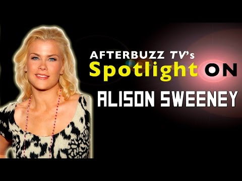 Alison Sweeney Interview   AfterBuzz TV's Spotlight On