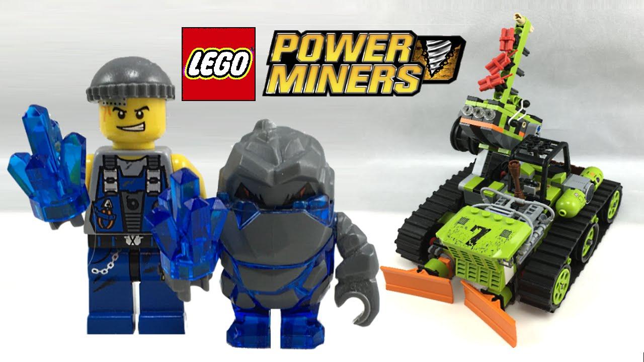 Lego Power Miners Boulder Blaster Review 2009 Set 8707