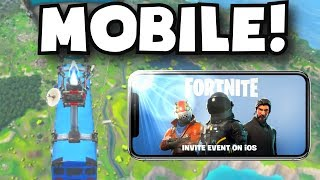 HOW TO GET FORTNITE MOBILE (iOS INVITE EVENT) How To Download Fortnite App Store Free Mobile Device