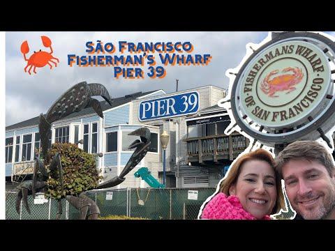 O melhor de São Francisco | Fisherman's Wharf | Pier 39 | Pepper Palace | Boudin Bakery