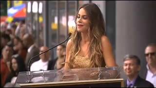 Sofia Vergara Gets Star On Walk Of Fame  'Don't Stop Dreaming'