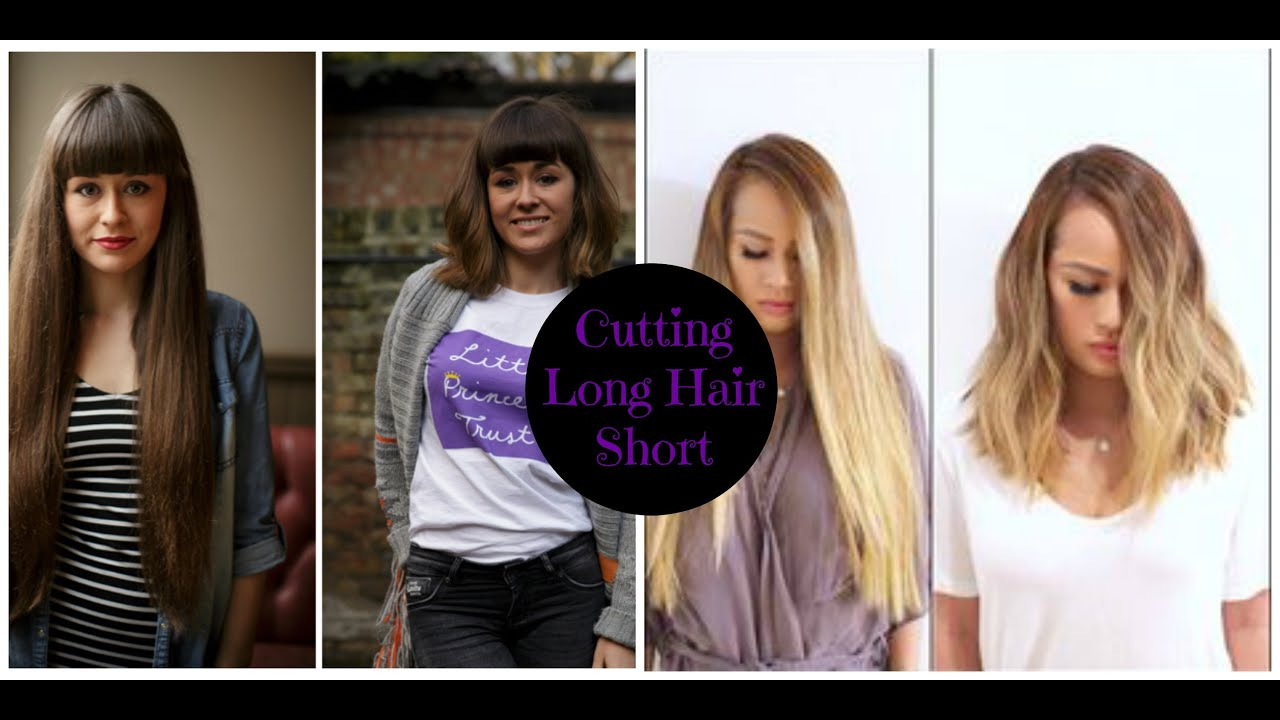 Hair Transformations Before After Cutting Long Short