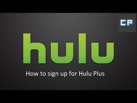 How To Sign Up For Hulu