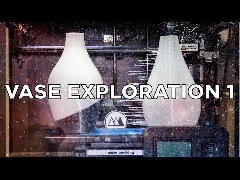 Vase Exploration 1 // 3D Printed Experiments