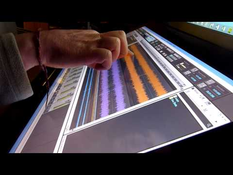 Windows 8 Multi-Touch in Music Production Part 1 (of 2) with Sonar, Cubase, Live, Reason, Emulator