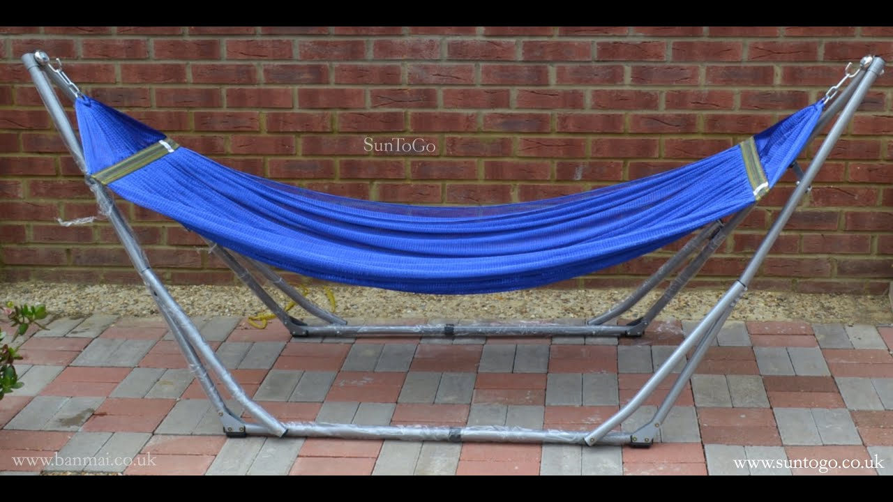 dp swiss gear sports hammock stand amazon outdoors com quick foldable