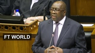 What South Africa minister sacking means | FT World