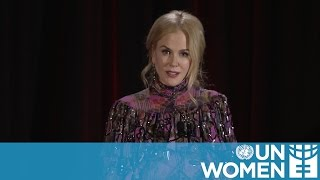 Nicole Kidman champions fight to end violence against women