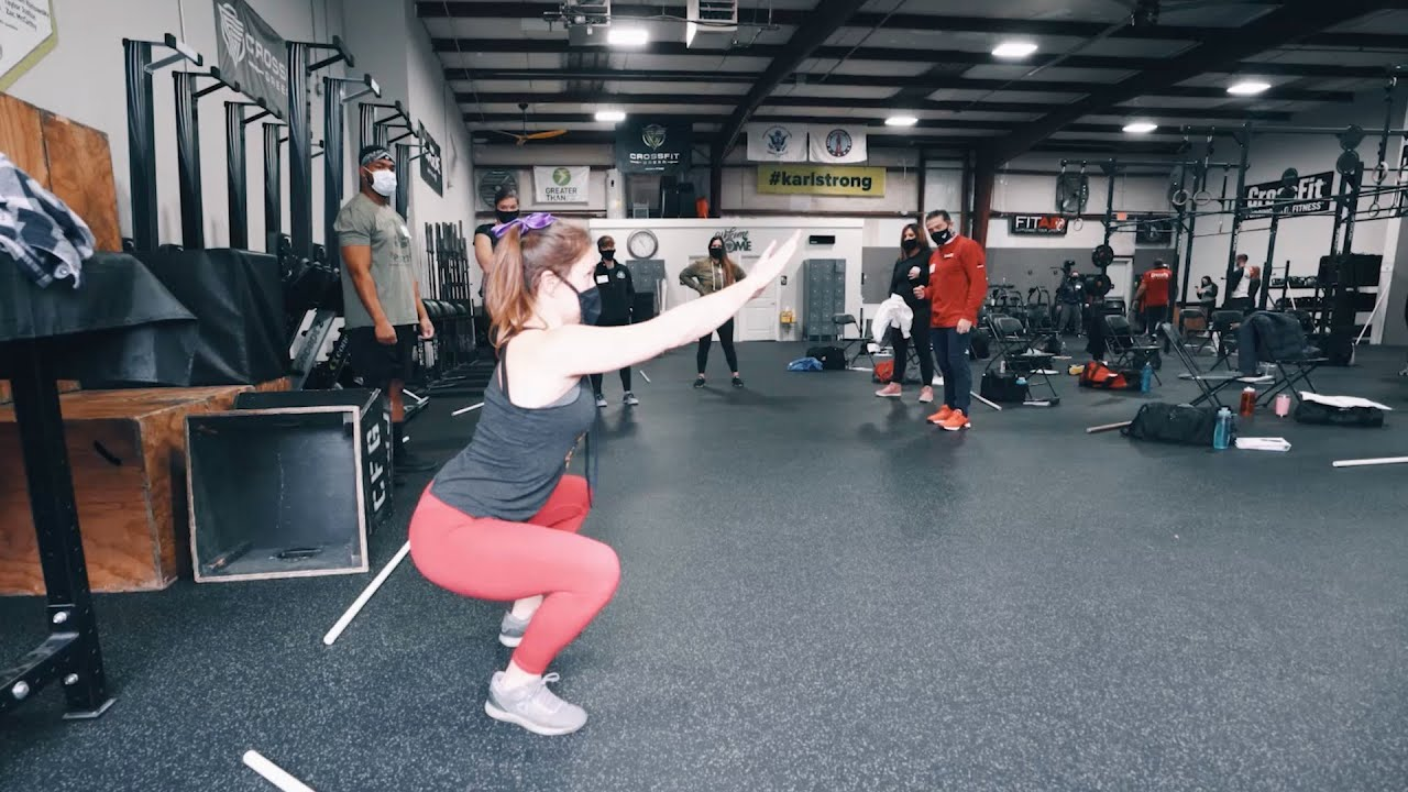Line of Action in the Air Squat