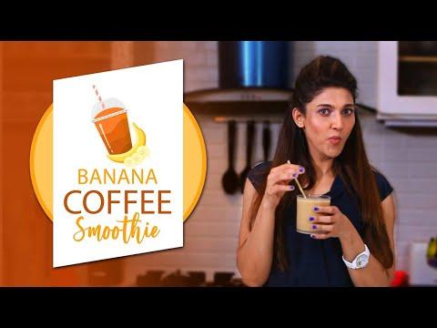 Banana Coffee Smoothie By Sana Fakhar