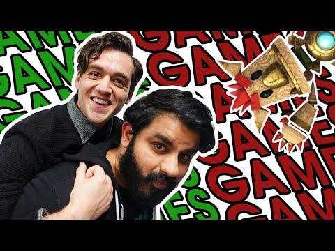 Tamoor and Kurt's Amazing Games Stream