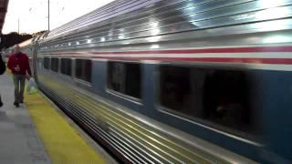 Amtrak & NJ Transit at Metropark Station/ Newark Penn Station