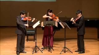 Kodaly Serenade for Two Violins and Viola, Op  12,