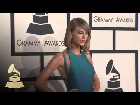 Taylor Swift At GRAMMY Fashion Cam  GRAMMYs