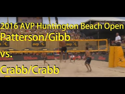 Patterson/Gibb vs. Crabb/Crabb, 2016 AVP Huntington Beach Op