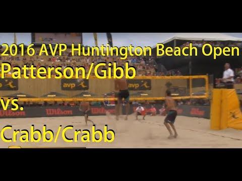 Patterson/Gibb vs. Crabb/Crabb, 2016 AVP Huntington Beach Open