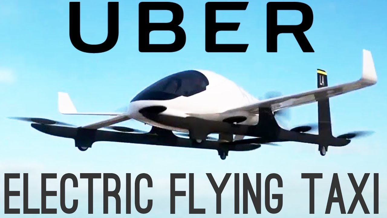 Uber's Electric Flying Taxis | NEW Battery Breakthroughs