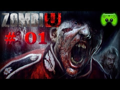 Let's Play ZombiU #01 [Deutsch/Blind/Full HD] - Losgepaddelt