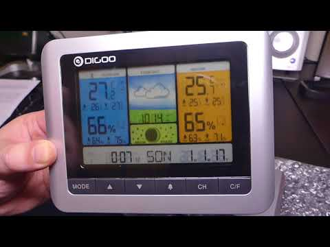 Digoo DG-TH8888 PRO WEATHER STATION FULL REVIEW