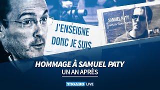 ⚫ Assassinat de Samuel Paty : un an après, l'hommage de la France