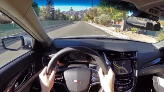 2015 Cadillac CTS Vsport - WR TV POV City Drive