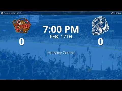 Erie Otters vs. Mississauga Steelheads (2/17/2017)
