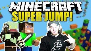 Im Spiel vom PC weg gehen! - Minecraft SUPER JUMP #3! mit Dner   ungespielt