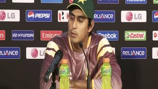 MOM Nasir Jamshed Press Conference, Pakistan v New Zealand, Group D, 2012 ICC WT20