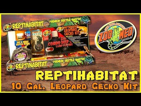 Zoo Med 10 Gallon ReptiHabitat™ Leopard Gecko Kit