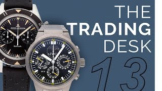 The Trading Desk: Themed Watch Collections