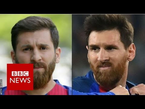 Meet the 'Iranian Messi' - BBC News