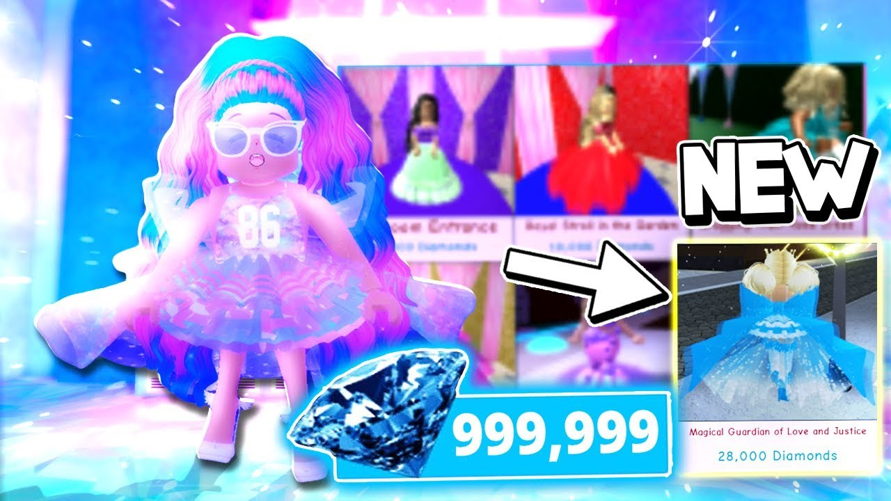 Buying The New 28,000 Diamond Dress Magical Guardian -3731