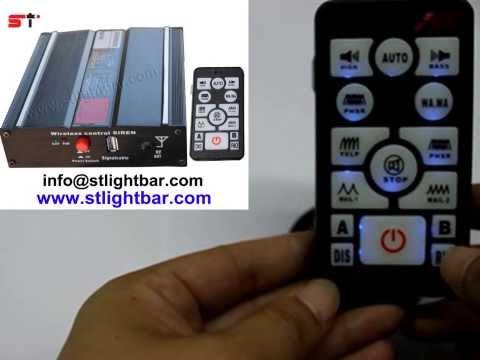 200W siren , wireless siren  with U-disk ,can play  MP3 file