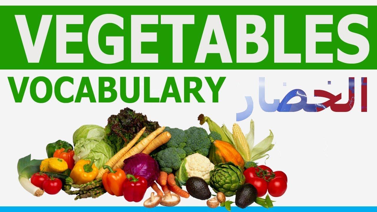 تعلم كلمات انجليزي Vegetables Vocabulary معاني الخضروات صوت وصورة عربي انجليزي Learn English Youtube