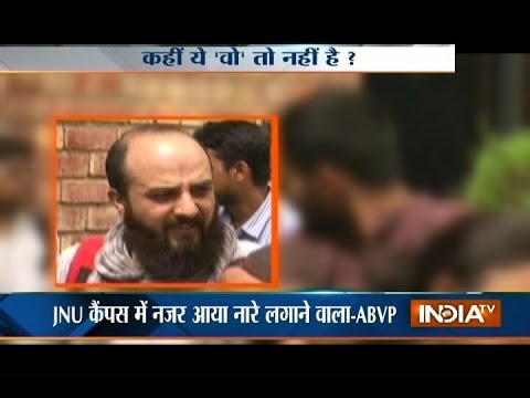 JNU Case: Muzeeb Gattu made Anti-India slogan at JNU campus, alleges ABVP