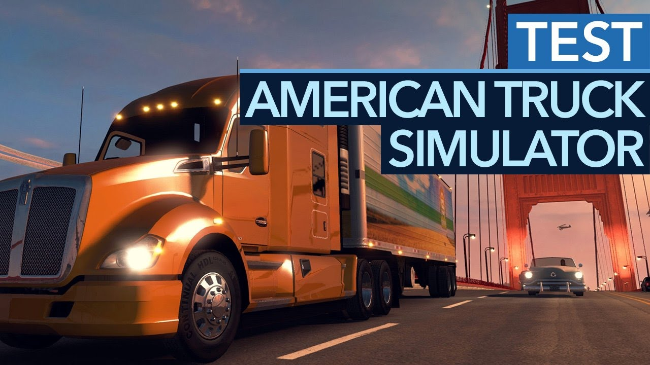 american truck simulator im test quer durch die usa review youtube. Black Bedroom Furniture Sets. Home Design Ideas