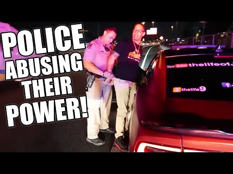 THE POLICE ARRESTED ME AND MY BROTHER TALL GUY CAR REVIEWS!