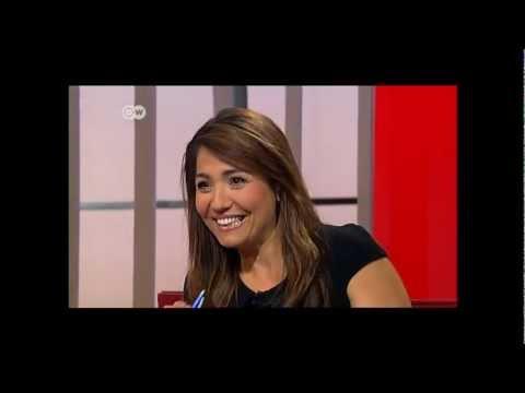 MIL SANTOS - Interview DEUTSCHE WELLE TV GERMANY
