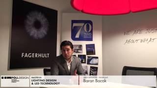 [Lighting Design & Led Technology] Student interview - Baran Bacak