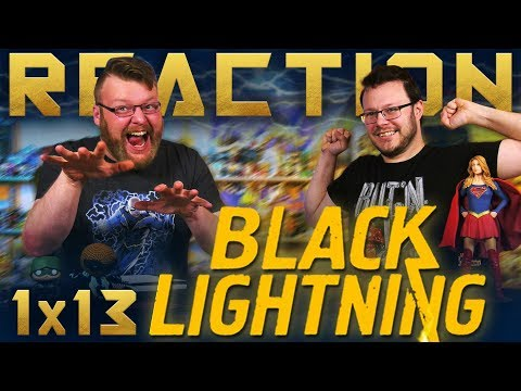 "Black Lightning 1x13 FINALE REACTION!! ""Shadow of Death: The Book of War"""